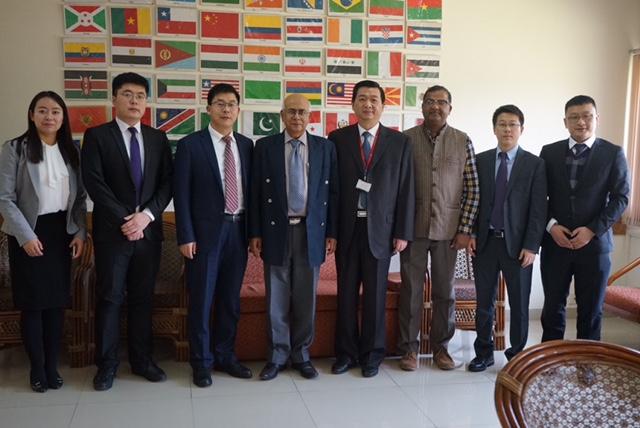 CMC Taizhou delegation visits ICGEB New Delhi