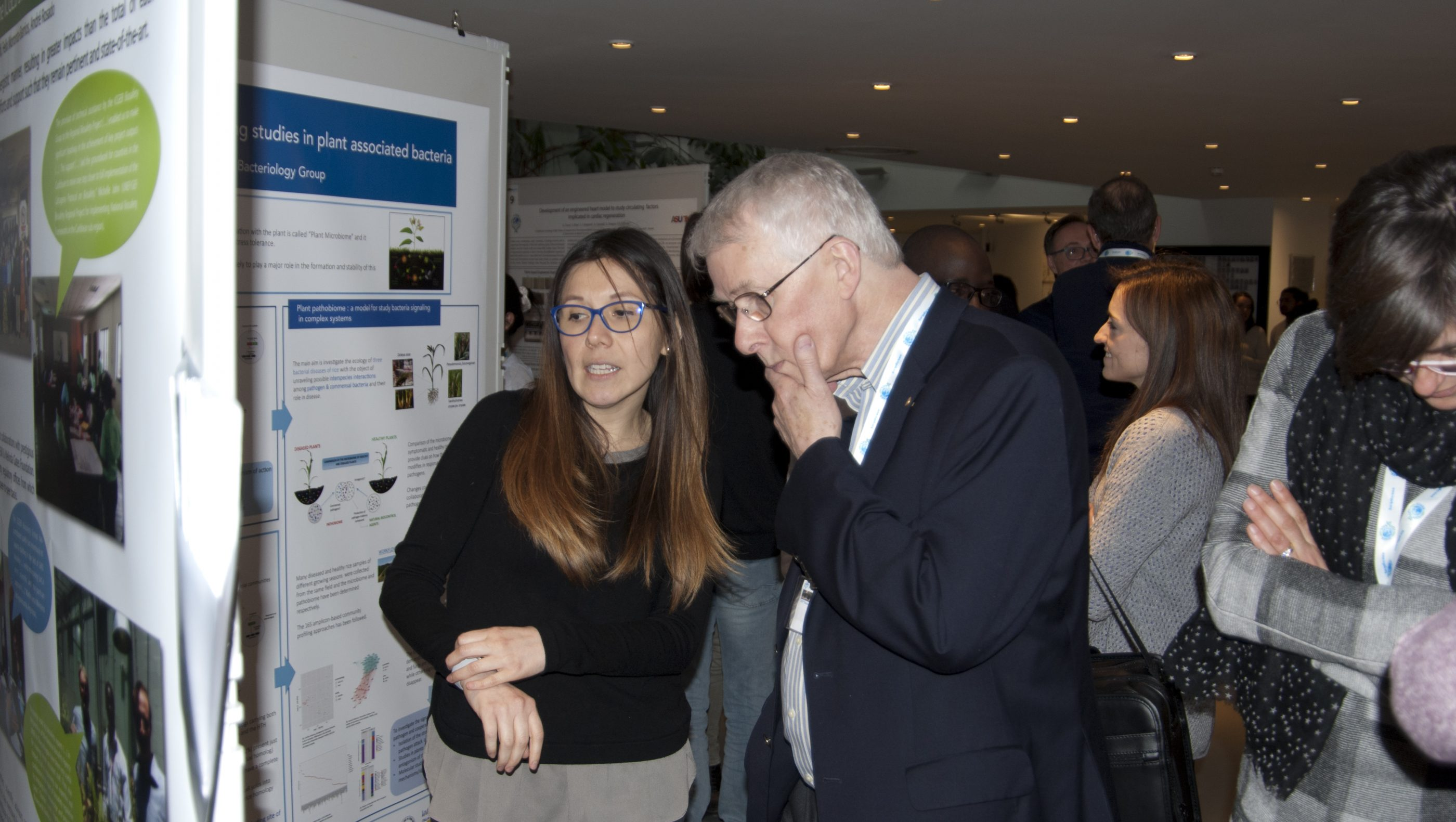 Sir Rich Roberts, Nobel Laureate, member of the ICGEB Scientific Council returns to Trieste