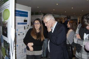 Sir Rich Roberts, Nobel Laureate, member of the ICGEB Scientific Council in Trieste this week