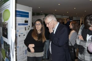 Sir Rich Roberts, Nobel Laureate, member of the ICGEB Scientific Council in Trieste this week