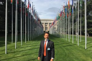 Alessandro Marcello for ICGEB at the UN in Geneva