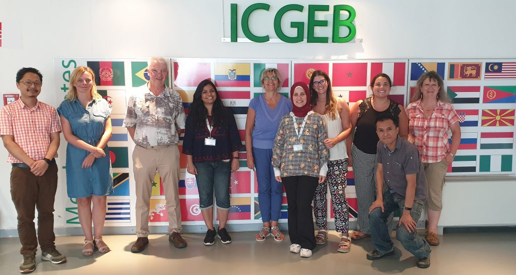 The ICGEB Tumour Virology Group headed by Lawrence Banks
