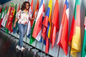 Lais Nascimento Alvez is a Brazilian PhD student in the Molecular Virology Laboratory at ICGEB Trieste