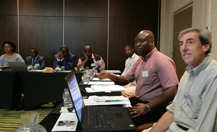 Project planning meeting held in Cape Town, October 2019