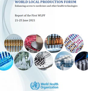ICGEB participates in the World Local Production Forum of the WHO in June 2021