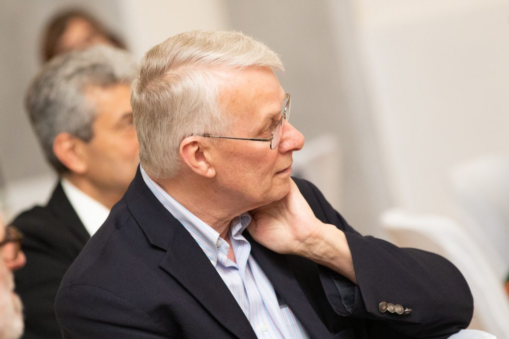 Sir Richard Roberts, ICGEB CSA Member